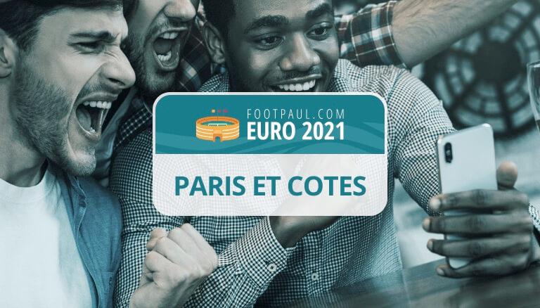 cotes pari sportif euro 2021