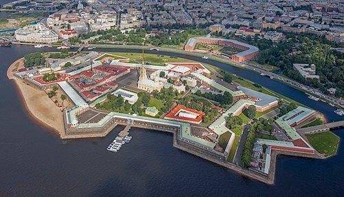Forteresse Pierre-et-Paul de Saint-Pétersbourg