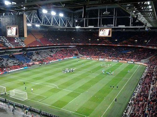 L'Amsterdam Arena vue de l'intérieur