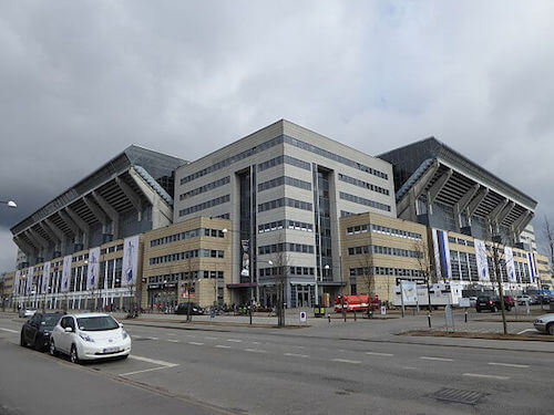 Lieu Euro 2021 : Stade Telia Parken de Copenhague