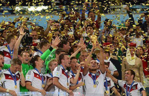 L'Allemagne championne du monde de football 2014