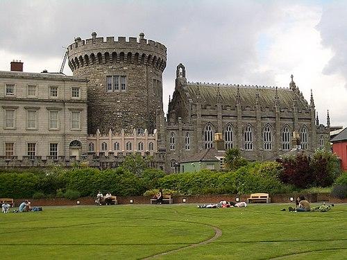 Le chateau irlandais Dublin Castle