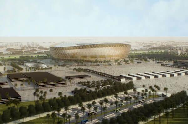 Stade Lusail Coupe du Monde 2022 au Qatar