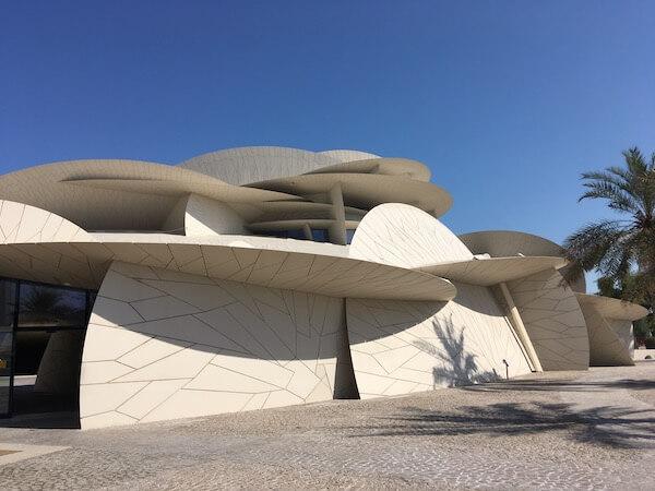 Musée national du Qatar à Doha