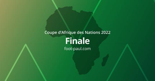 Finale Coupe d'Afrique des Nations 2021