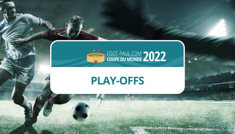 barrages coupe du monde 2022 europe